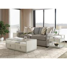 See Details - Maisie - Rectangular Coffee Table - Champagne Finish