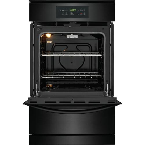 Frigidaire 24'' Single Gas Wall Oven - Black -CLEARANCE ITEM