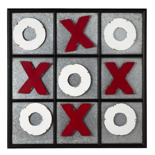 Tic-Tac-Toe Wall Magnet Board