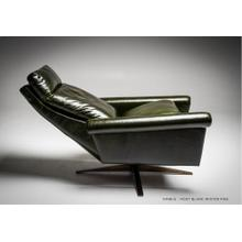 Nimbus Contemporary Swivel Recliner - American Leather