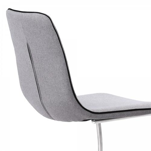 Armen Living - Armen Living Brittany Contemporary Dining Chair