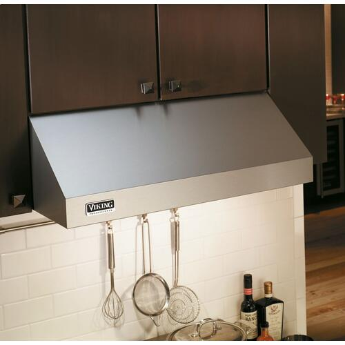 "36"" Wide 10"" High Wall Hood + Ventilator - VWH Viking 5 Series"