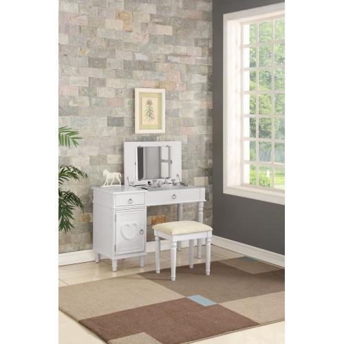 Gallery - Mimmi Bedroom Vanity, White