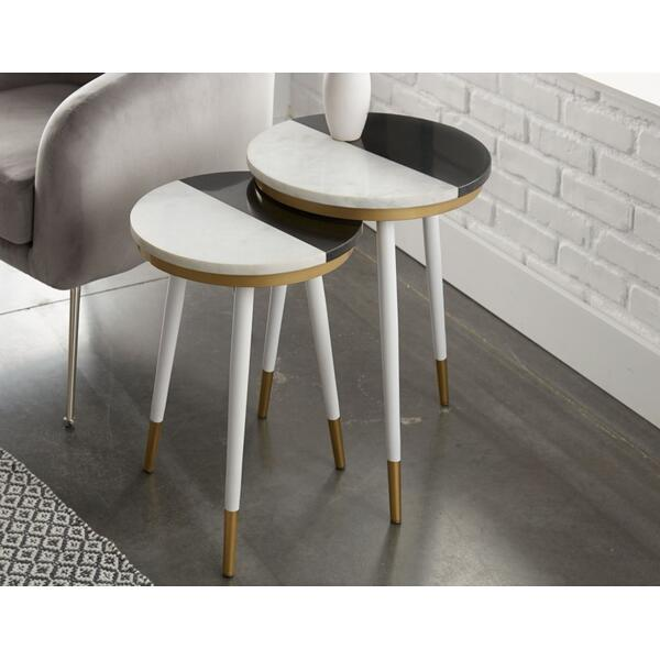Taj Marble Top Nesting Tables