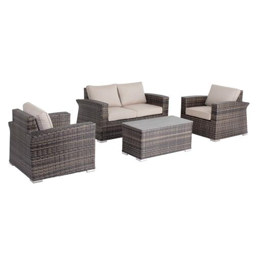 Baily 4 pc LOVE SEAT Set Sunbrella Cushion Inclusive