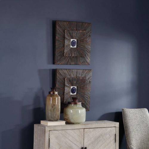 Uttermost - Anika Wood Wall Decor