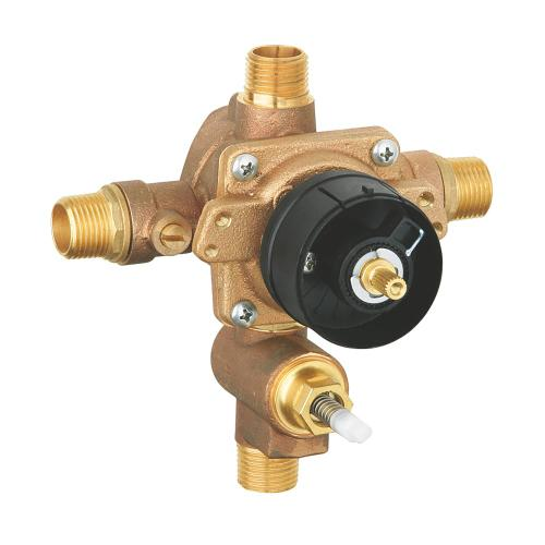 Grohsafe Pressure Balance Rough-in Valve With Built-in Diverter
