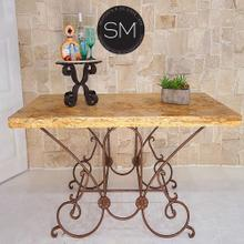 See Details - French Style Kitchen Island Pastry Table-1233C