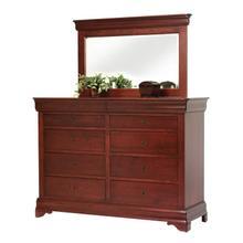 See Details - Louis Phillipe High Dresser- Mirror