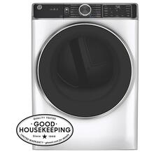 GE® 7.8 cu. ft. Capacity Smart Front Load Electric Dryer with Steam