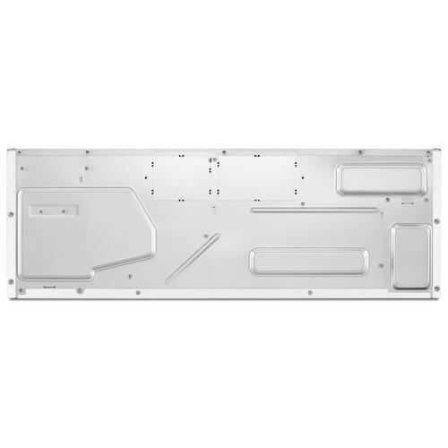 KitchenAid - 1000-Watt Low Profile Microwave Hood Combination - White