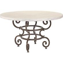 Hemingway Florentine Round Dining Table