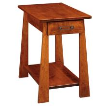 See Details - Craftsmen Chairside Table