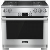 HR 1135-1 G - 36 inch range All Gas with DirectSelect, Twin convection fans and M Pro dual stacked burners