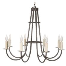 Cedarvale 8 Arm Iron Chandelier