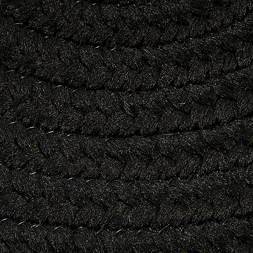 Boca Raton Rug BR42 Black 3' X 5'