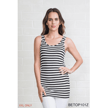Body Esteem Stripe Neutral Tank - XXL (3 pc. ppk.)