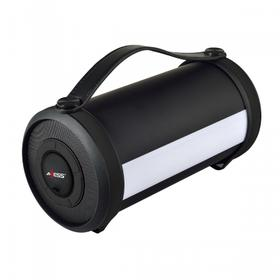 Portable Bluetooth® Rechargeable Speaker W/ LED & RGB Lighted Panels, Built-in FM Radio - SPBT1054