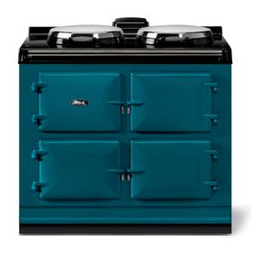 "AGAAGA classic 39"" Dual Control Electric/Gas Model, Salcombe Blue"
