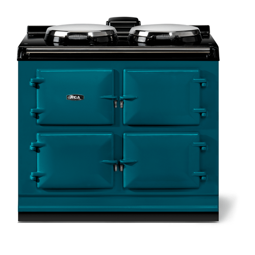 """AGA - AGA classic 39"""" Dual Control Electric-Only Model, Salcombe Blue"""