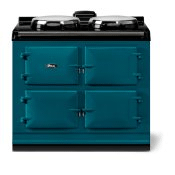 """AGA classic 39"""" Dual Control Electric-Only Model, Salcombe Blue"""