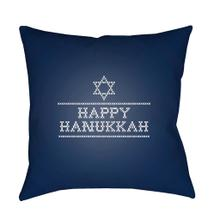 "Happy Hannukah II JOY-009 18"" x 18"""