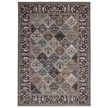 "Liora Manne Fresco Panel Indoor/Outdoor Rug Blue 4'10"" x 7'6"""