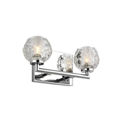 Arielle 2 - Light Vanity Chrome Bulbs Inc