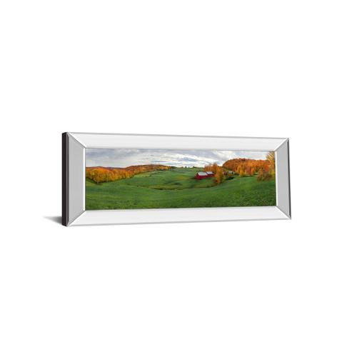 """Jenne Farm"" By Shelley Lake Mirror Framed Print Wall Art"