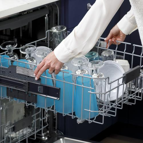 GE Stainless Steel Interior Dishwasher with Hidden Controls White - GDT665SGNWW