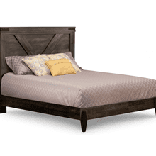 Chattanooga Double Bed with 14'' Wrap Around Footboard