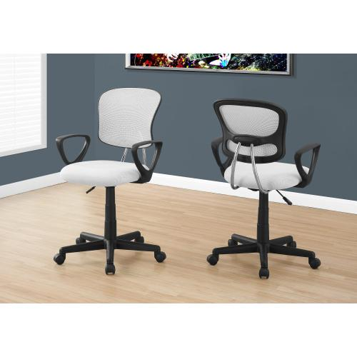 Gallery - OFFICE CHAIR - WHITE MESH JUVENILE / MULTI-POSITION