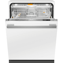 See Details - Fully-integrated, full-size dishwasher with hidden control panel, 3D+ cutlery tray, custom panel and handle ready