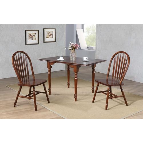 """Arrowback Dining Chair - Distressed Chestnut (38"""")"""
