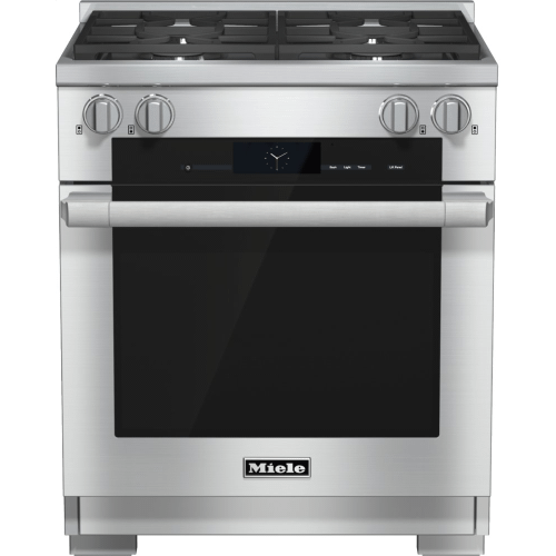 30 inch range Dual Fuel with M Touch controls, Moisture Plus and M Pro dual stacked burners
