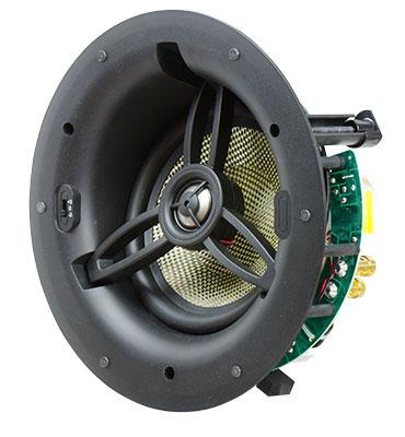 """NUVO Series Six 6.5"""" Angled In-Ceiling Speakers"""