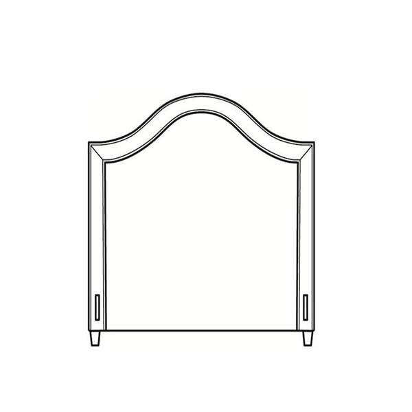 See Details - Twin Short Headboard