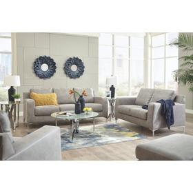 Ryler Sofa & Loveseat Steel