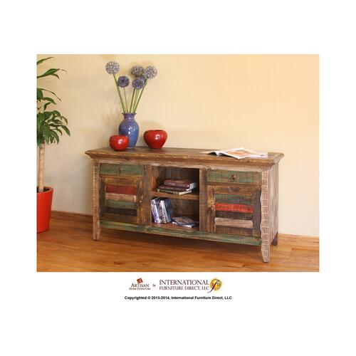 """Artisan Home Furniture - 60"""" Console w/2 doors, 2 drawers"""