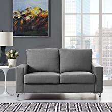 Allure Upholstered Sofa in Gray