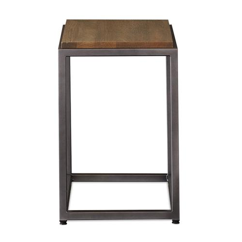 Midtown Oak Chairside Table
