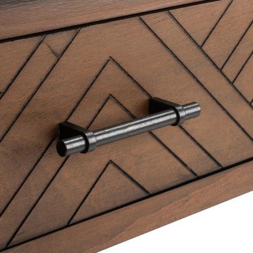 Safavieh - Peyton 3 Drawer Console Table - Brown