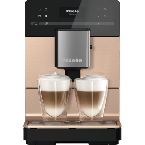 Miele - CM 5510 Silence - Countertop coffee machine with OneTouch for Two and user profiles for the ultimate in coffee enjoyment.