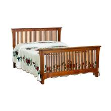 Bungalow Spindle Bed Headboard Only - King