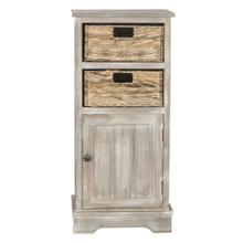 See Details - Connery Cabinet - Vintage White