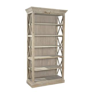 See Details - Weathered Open Bookcase