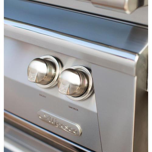 "Alfresco - 56"" Sear Zone Grill with Side Burner Cart"