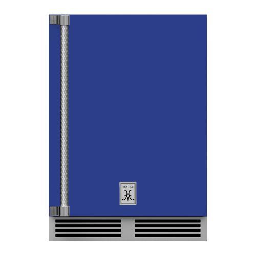 "24"" Hestan Outdoor Dual Zone Refrigerator with Wine Storage (Solid Door) - GRWS Series - Prince"