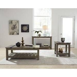 Standard Furniture - Nelson Rustic Grey End Table