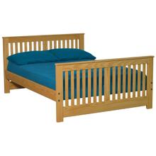 Shaker Bed, Double, extra-long